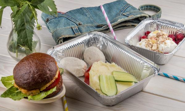 фото - фитнес ланч для девушек, доставка обедов в Харькове
