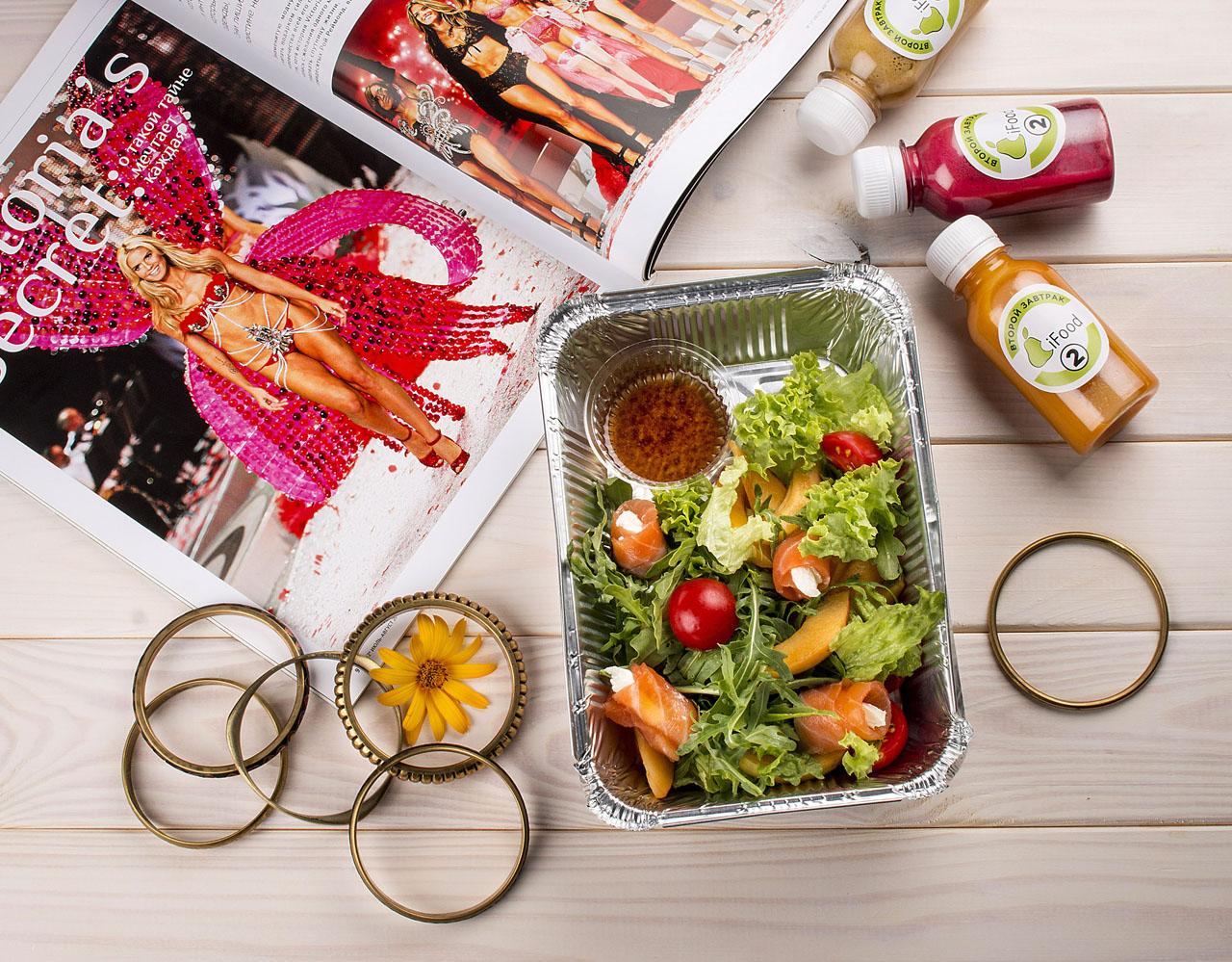 Заказать программу питания для похудения для девушек, с доставкой на дом - фотография