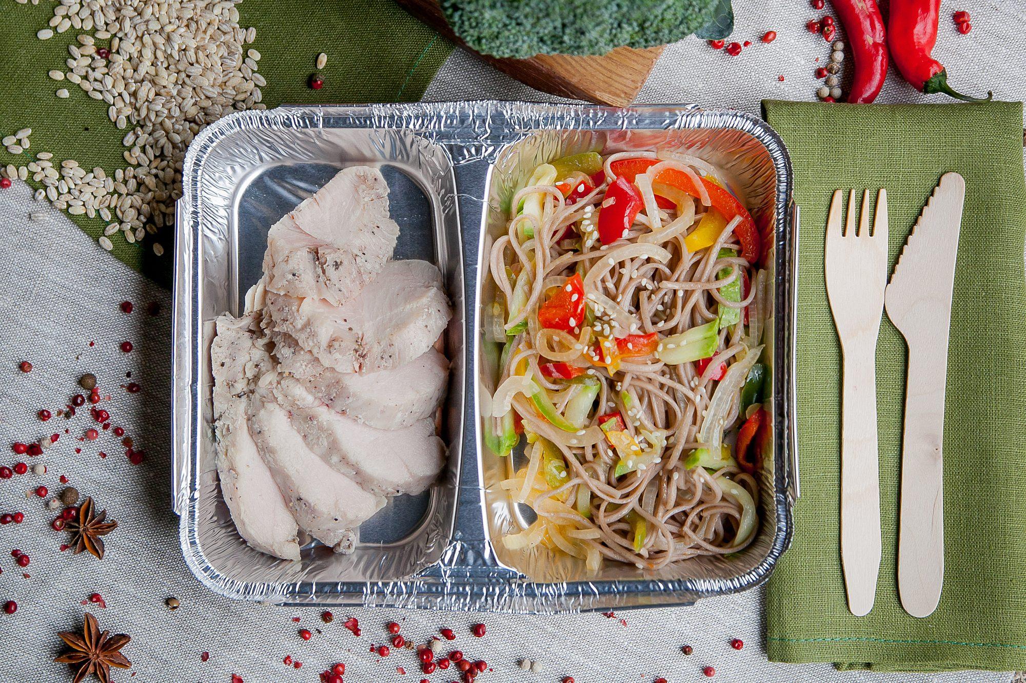 фото правильного питания в контейнерах