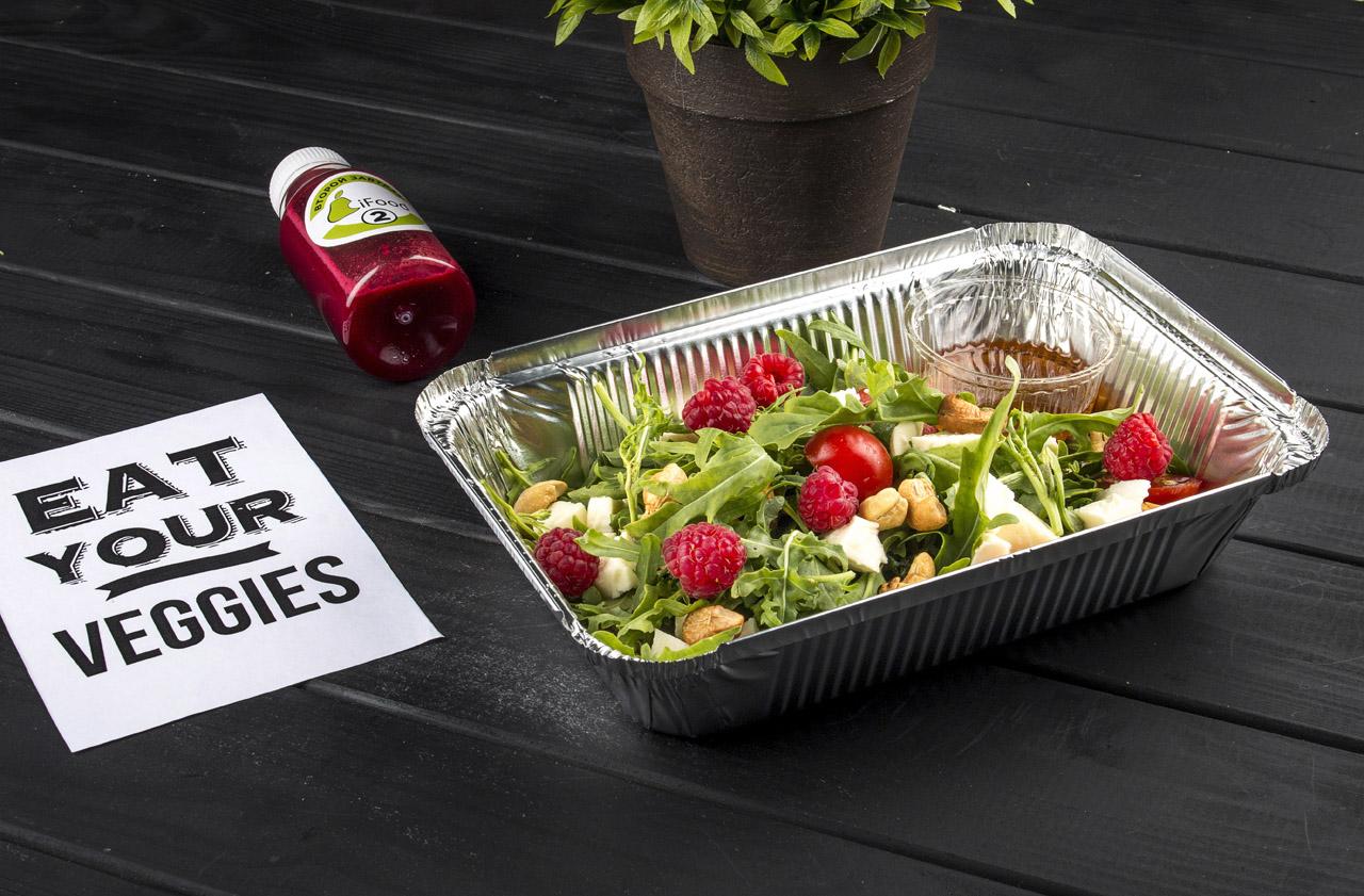 Фото доставляемого на дом вегетарианской еды для женщин в Харькове и Киеве