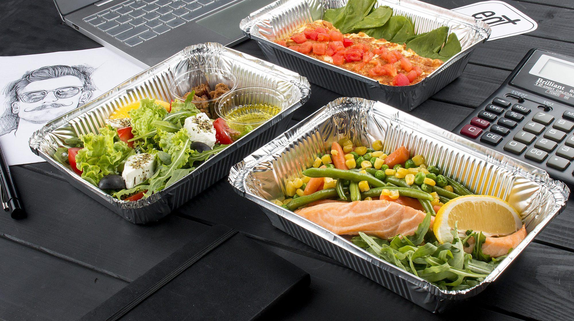 Фото обеда здорового питания для мужчин, с доставкой в офис по Харькову