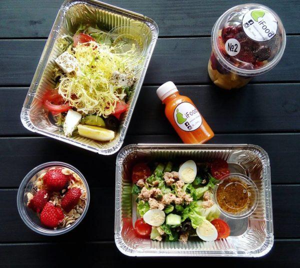 Доставка здорового питания - фото рациона