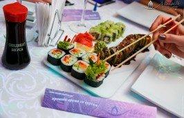 фото- суши в ресторанах в ресторанах Синдикат Вкуса