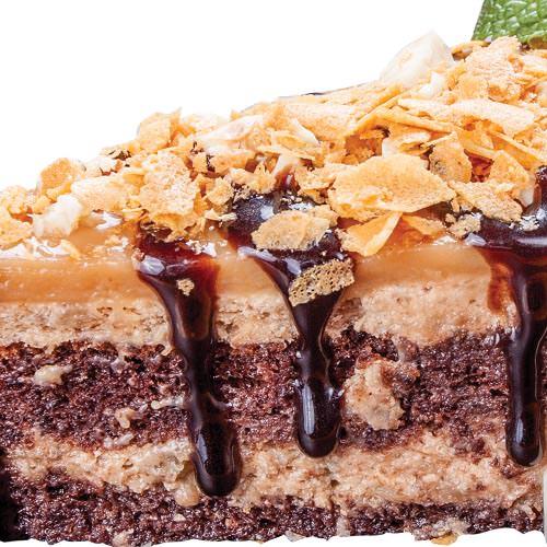 Банановый торт с лесным орехом - Торты на заказ с доставкой Харьков | SV