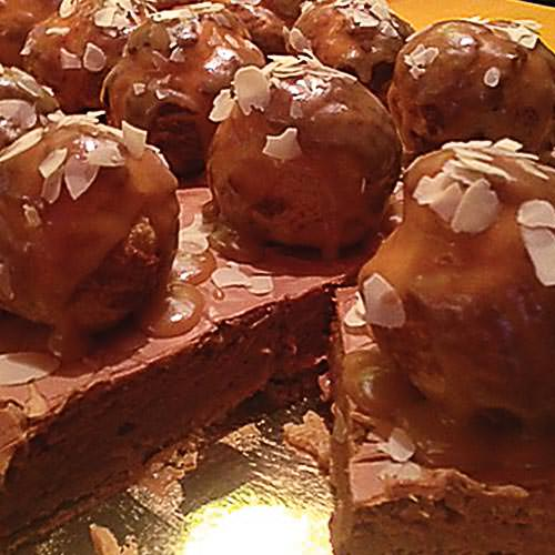 Гато «Сент-Оноре» - заказать торт в Харькове - фото тортов на заказ