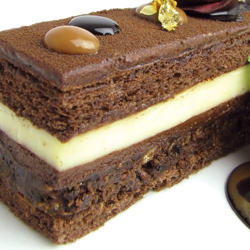 Шоколадный торт на крустианте - шоколадный торт на заказ