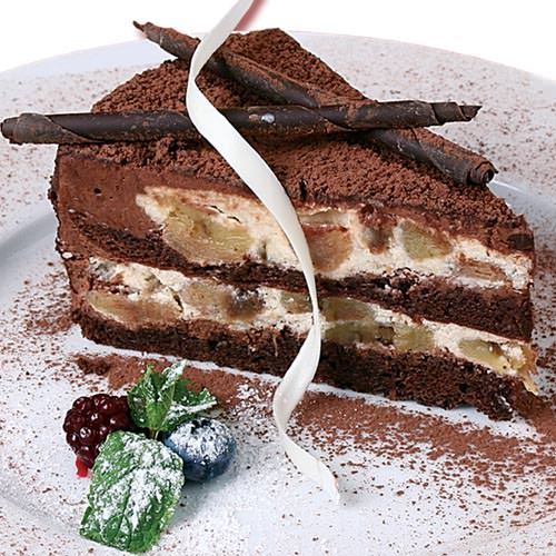 Торт шоколадно-банановый - шоколадный торт Харьков доставка | SV