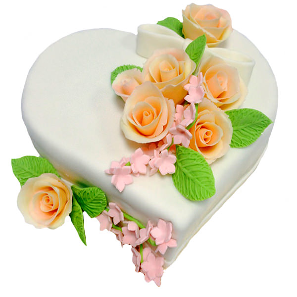 Заказать торт на годовщину свадьбы 1 год, 5 лет, 10 лет - Харьков - фото