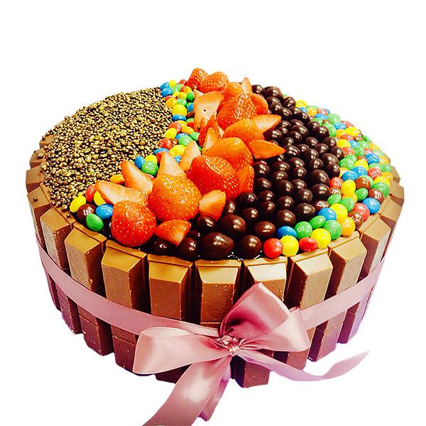 Торт из шоколадок - эксклюзивные торты Харьков