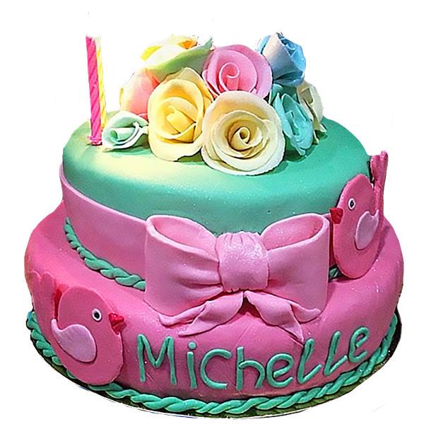 "Картинка торта на заказ на день рождения от ""Синдикат Вкуса"""