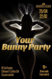 """Your Bunny Party""!"