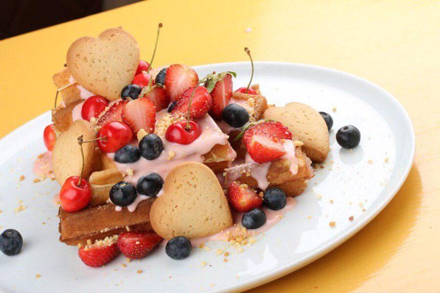 """Новое вафельное меню в кофейне """"Coffee&Waffles"""" - фото"""
