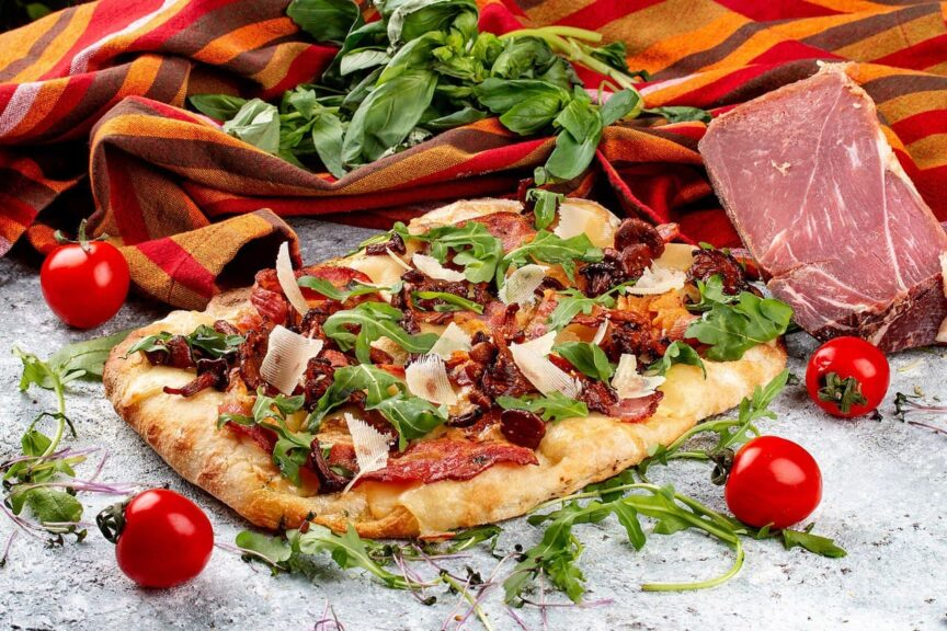 """Римская пицца в ресторане """"Пушка"""" - фото, новинки в городе"""