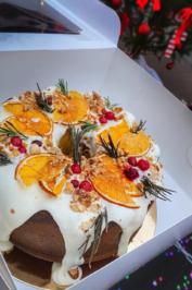 Открыт предзаказ на Рождественский кекс!